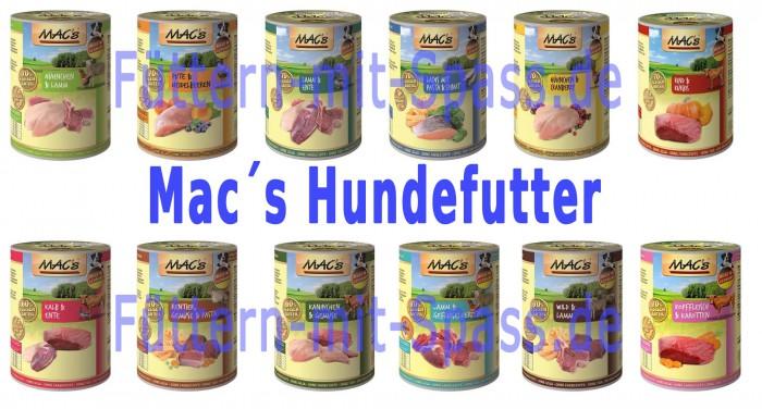 mac s hundefutter sparpaket hundefutter nassfutter macs. Black Bedroom Furniture Sets. Home Design Ideas