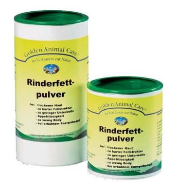 grau gac rinderfett pulver hundefutter erg nzungsfutter gesundheit fitness. Black Bedroom Furniture Sets. Home Design Ideas